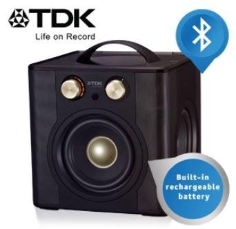 TDK Wireless 360°, tragbarer Sound Cube für Wireless Audio Streaming im Retro Look, inkl. Versand 178,90€ (Vergleich 299€)