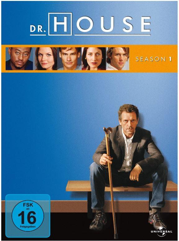 Dr. House Staffel 1 (6DVDs) in Amazon Warehouse Deals, nur 3,20€ (mit Prime)