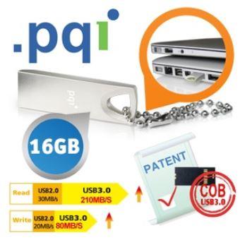 High Speed PQI USB 3.0 Stick mit Zink Legierung inkl.Versand 30,90€