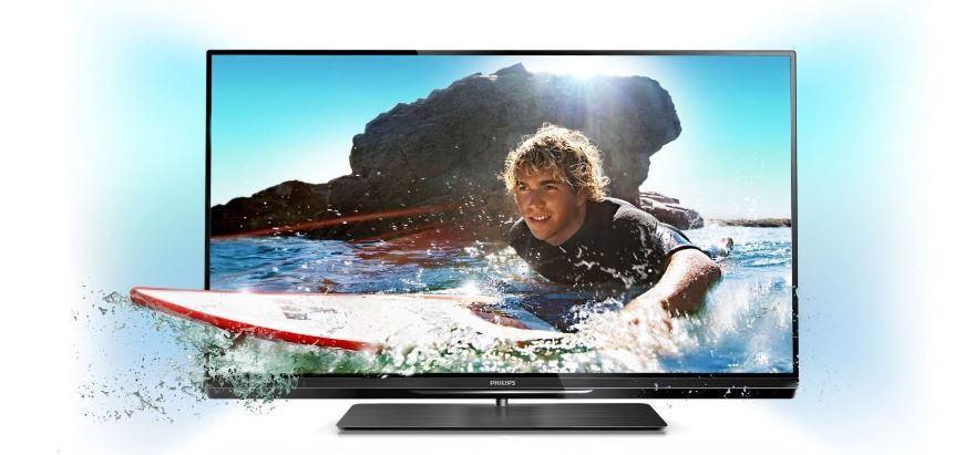 47 3D TV, Philips 47PFL6007K/12 Ambilight, DVB T/C/S2, Smart TV, inkl. Versand 879€