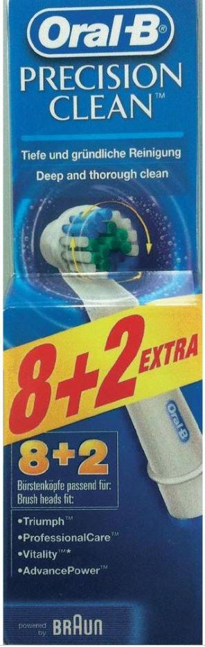 Oral B Precision Clean   10er Pack Ersatzbürsten ab 7,05€   dank neuen OTTO.de 15,95€ Gutscheincode für Neukunden