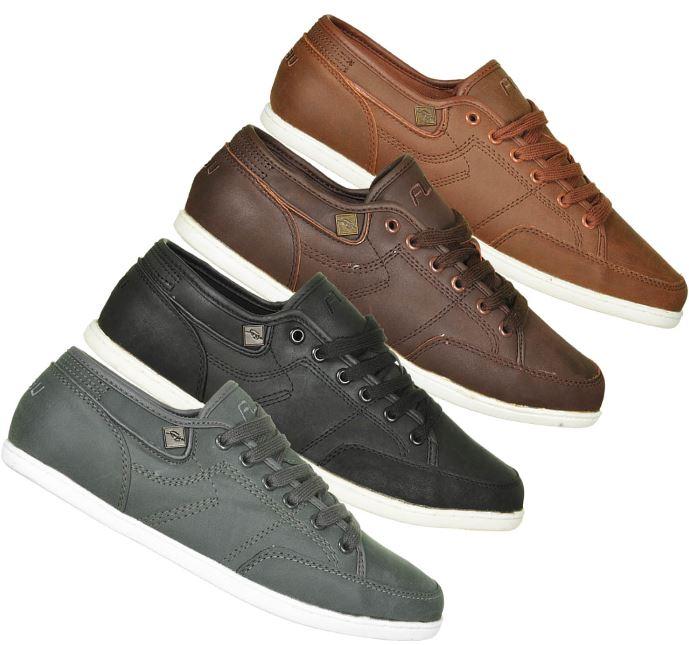 FUBU Lace Low Sneaker Herrenschuhe in 4 Farben (Gr.41 bis 50) inkl. Versand 24,90€