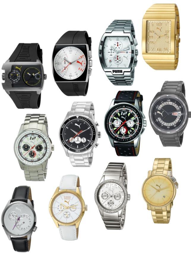 Puma Time, verschiedene Herren & Damenuhren inkl. Versand 69,95€