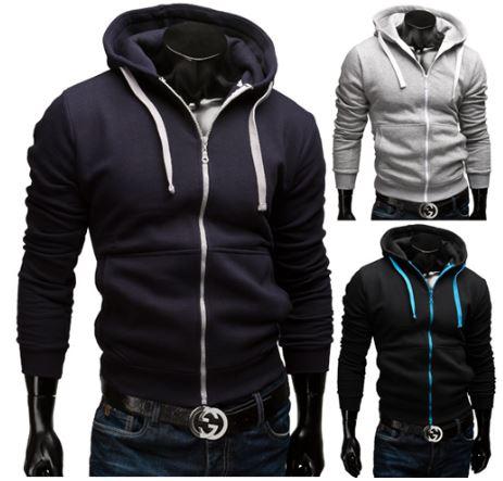 Merish Sweatjacke mit Hoody in 4 Farben (Größen von S bis XXL), inkl. Versand je 22,90€