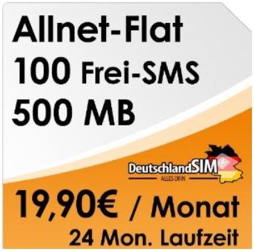 DeutschlandSIM Allnet Flat