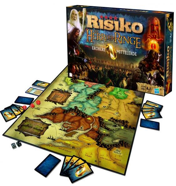 Risiko   Herr der Ringe Edition, Winning Moves 10616, inkl. Versand 34,92€