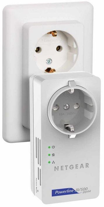 Netgear Powerline Set XAVB5601, AV+ 500 Mbit   2er Kit mit Steckdose für 49,90€