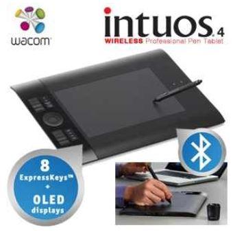 Wacom Intuos4 Wireless Design Tablet mit Bluetooth inkl. Versand 175,90€