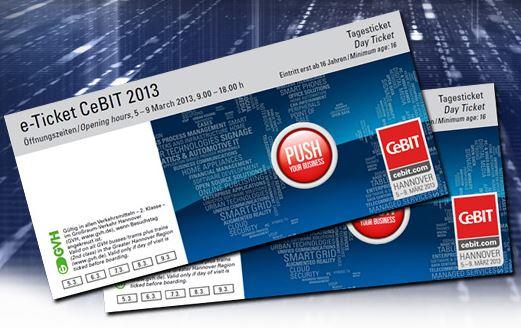 Jetzt aber Schnell, 2 CeBIT Karten kostenlos via Facebook!