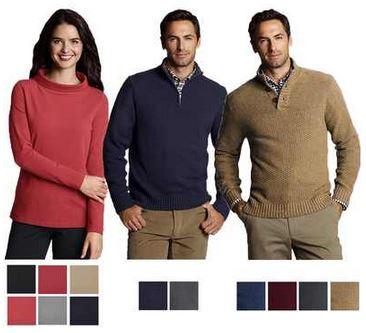 LANDS END Herren & Damen Pullover in verschiedenen Farben, je inkl. Versand. 19,95€