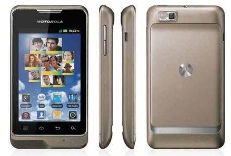 Android Smartphone Motorola Motosmart titanium inkl. Versand nur 69€