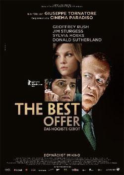 2 Kinokarten für 0,50€   Vorpremiere von The Best Offer