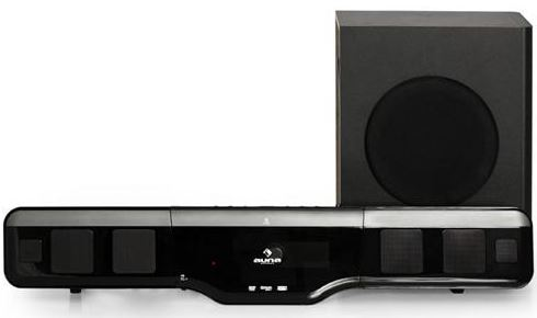 heimkino system auna vbsr1k 2 1 home cinema soundbar mit. Black Bedroom Furniture Sets. Home Design Ideas