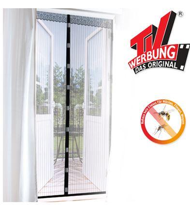 magic klick moskito fliegengitter 90x210cm mit magnetverschluss f r 9 99. Black Bedroom Furniture Sets. Home Design Ideas