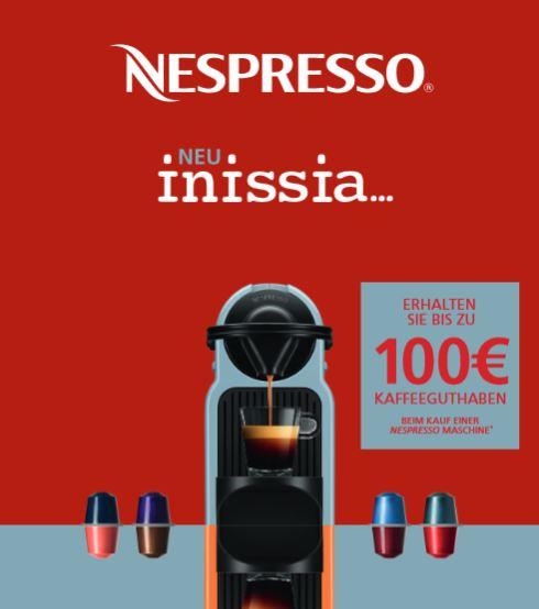 nespresso 40€ guthaben