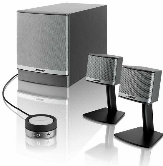 bose companion 3 multimedia lautsprecher system f r 199. Black Bedroom Furniture Sets. Home Design Ideas